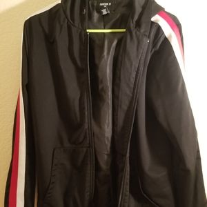 Forever 21 athletic hoodie jacket